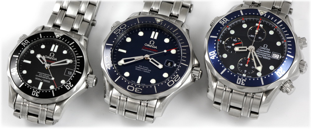 Seamaster Professional Sizes