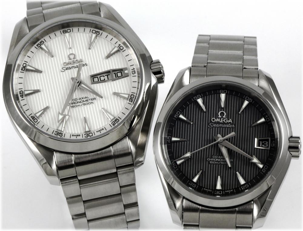 omega aqua terra seamaster co-axial chronometer