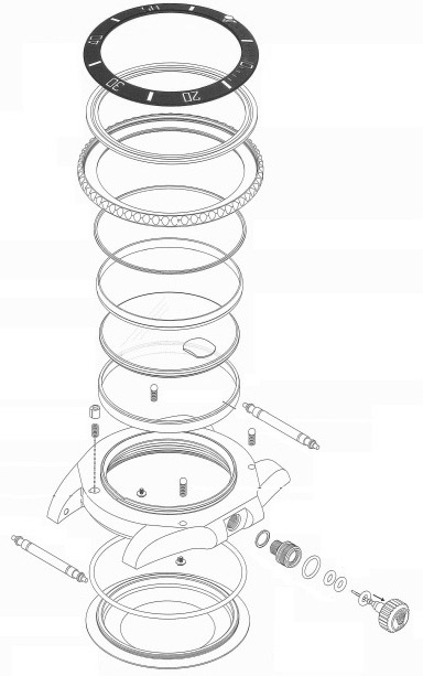 Rolex 116610 Assembly