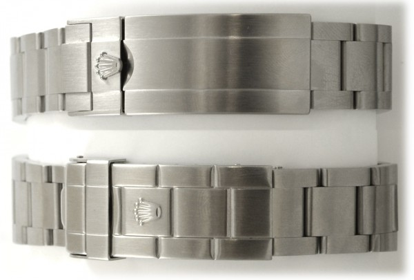Rolex Submariner Buckle Comparison