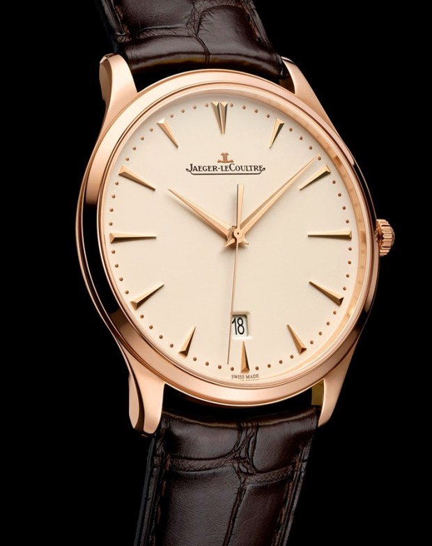 Jaeger Le Coultre Master Ultra Thin Date Rose JLC899