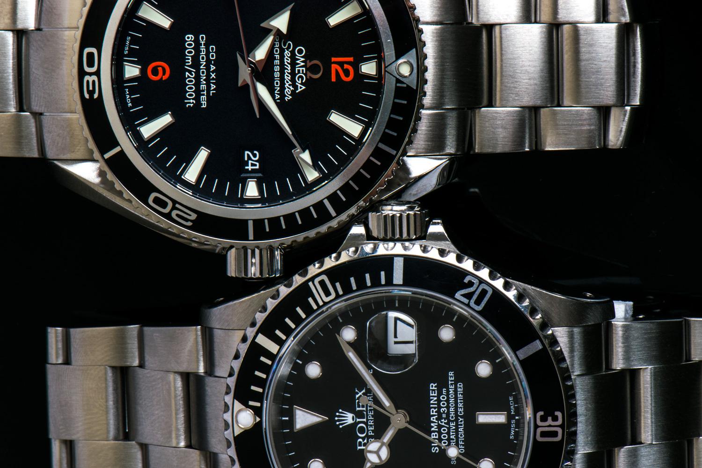 Rolex Submariner vs Omega Planet Ocean