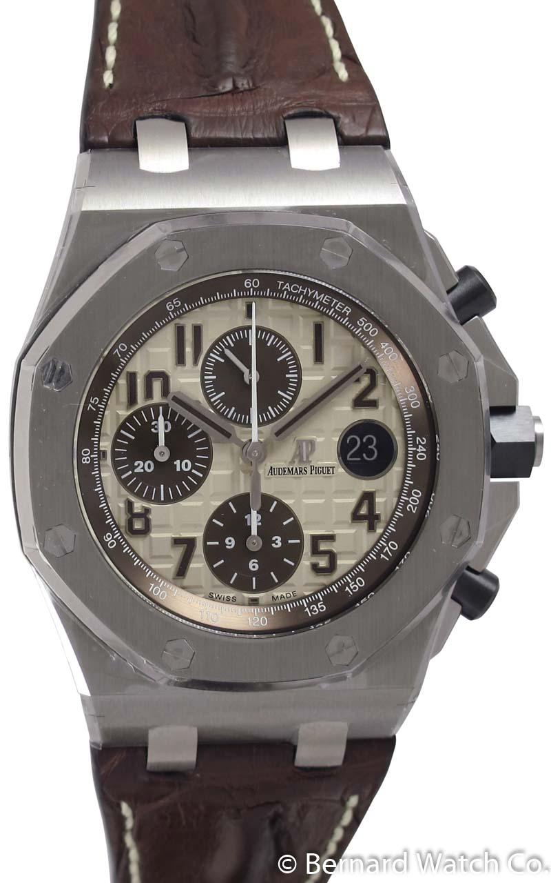 Audemars piguet royal oak offshore chronograph 26470st oo bernard watch for Ap royal oak offshore chronograph