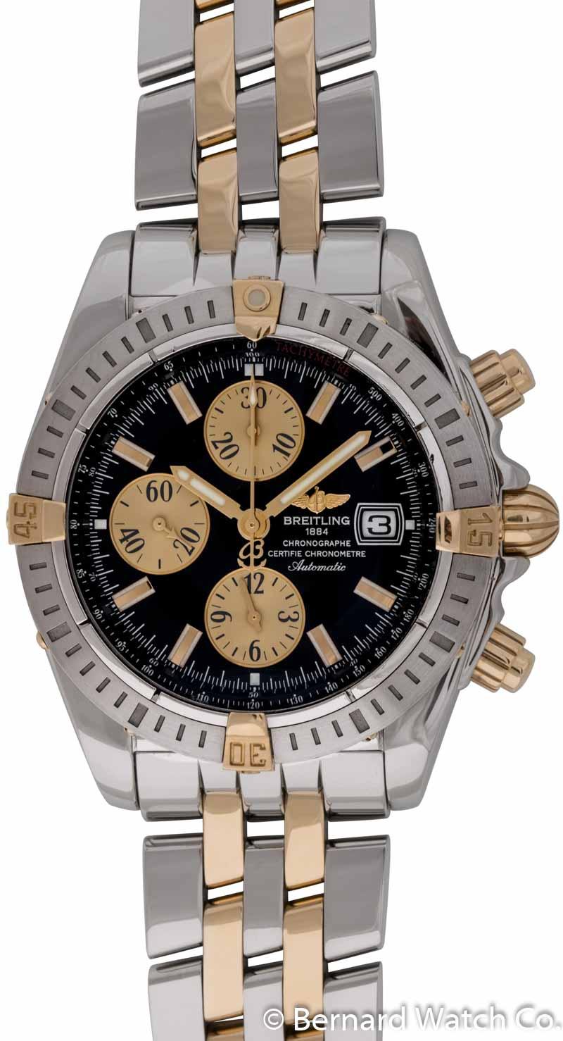 5638cd1e538 Breitling - Chronomat Evolution   B13356   SOLD OUT   black   gold dial