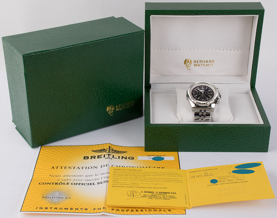 Materials with this Bentley 6.75 Chronograph
