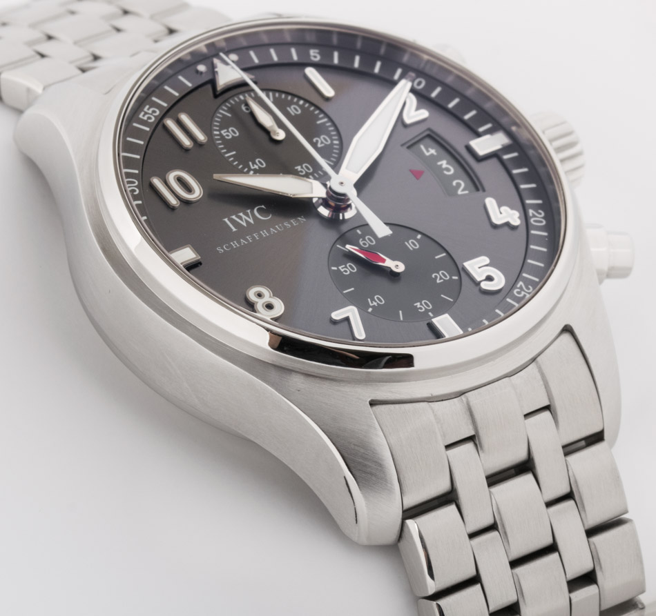 Side angle of Spitfire Flyback Chronograph