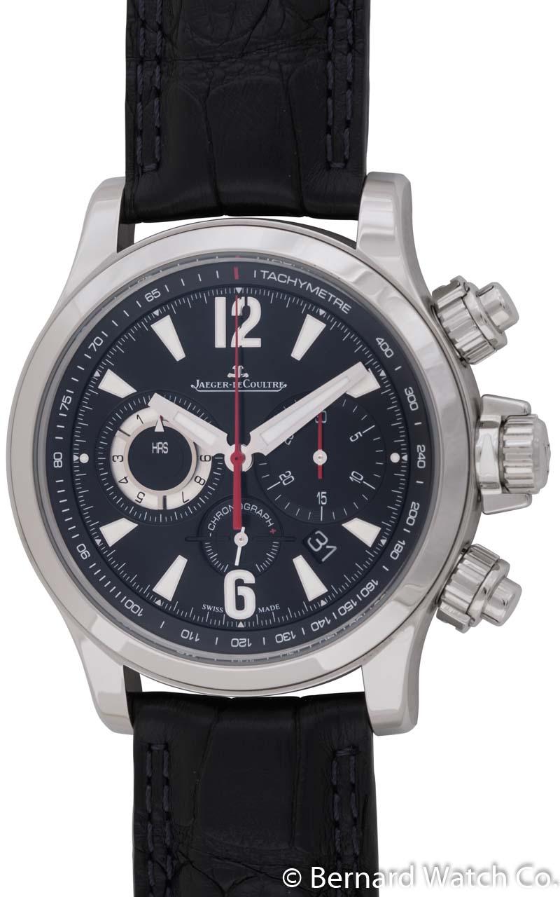 Jaeger lecoultre master compressor chronograph bernard watch for Chronograph master