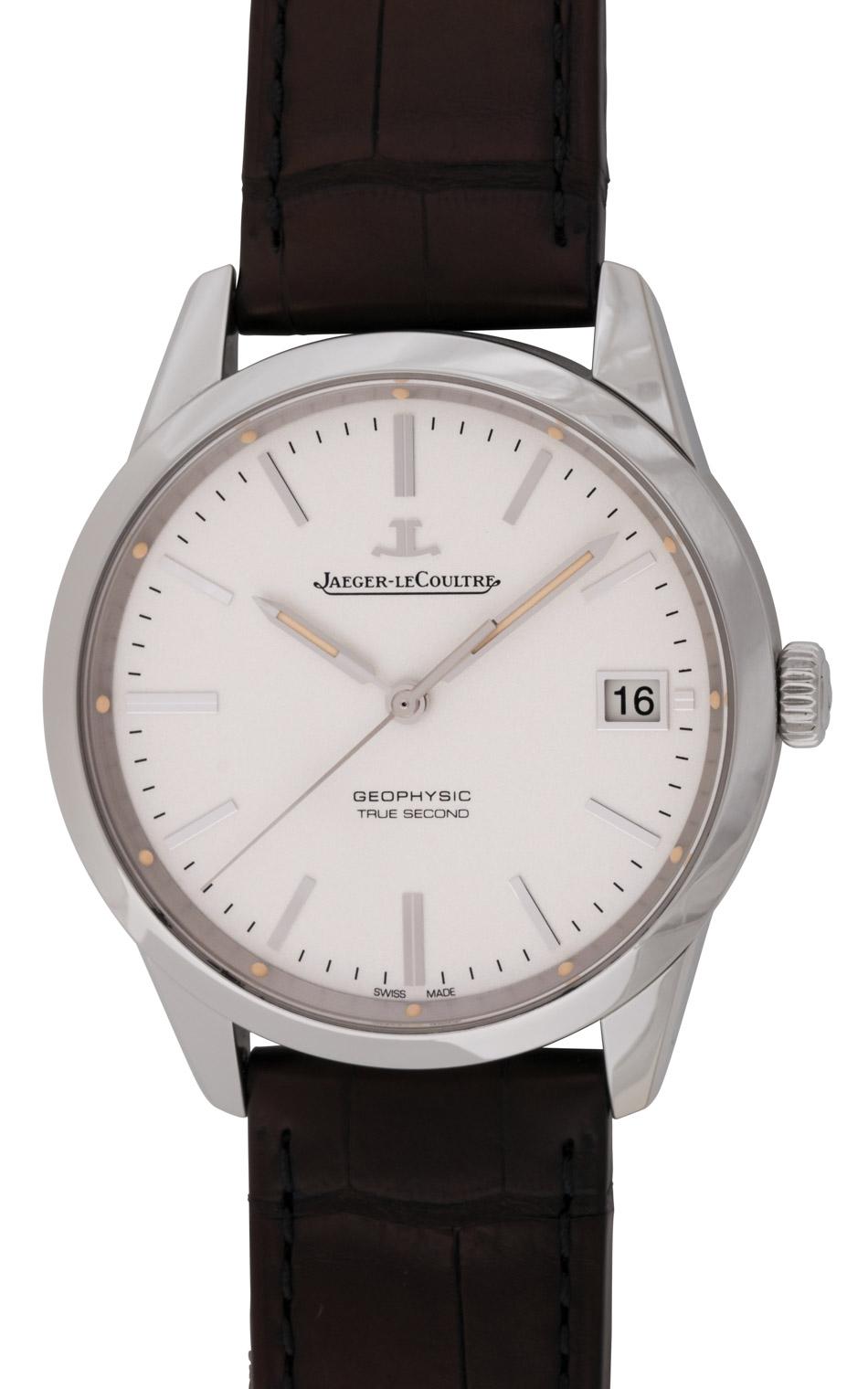 Jaeger lecoultre geophysic true second q8018420 bernard watch for Geophysic watches