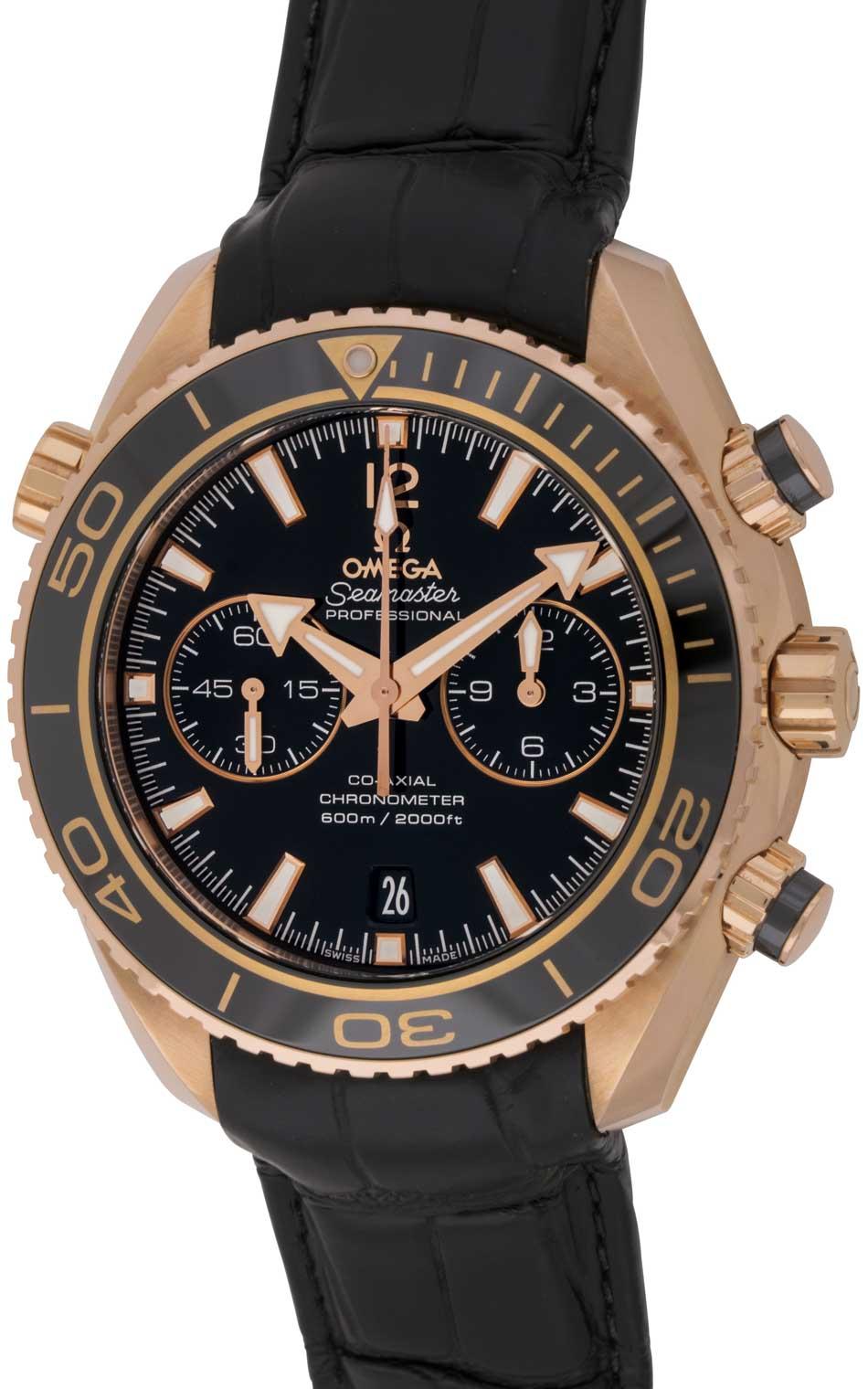 Omega - Seamaster Planet Ocean Chronograph   232.63.46.51.01.001 ... b81c05bfcd