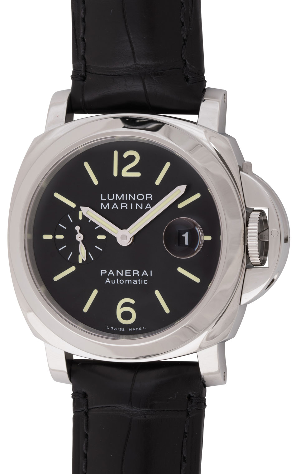 panerai luminor marina pam 104 bernard watch. Black Bedroom Furniture Sets. Home Design Ideas