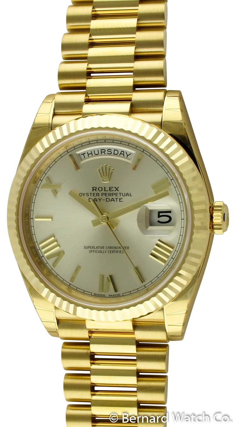 e6d00aaaa7b1 Rolex Day-Date 40 President   228238 silver dial   Watch For Sale