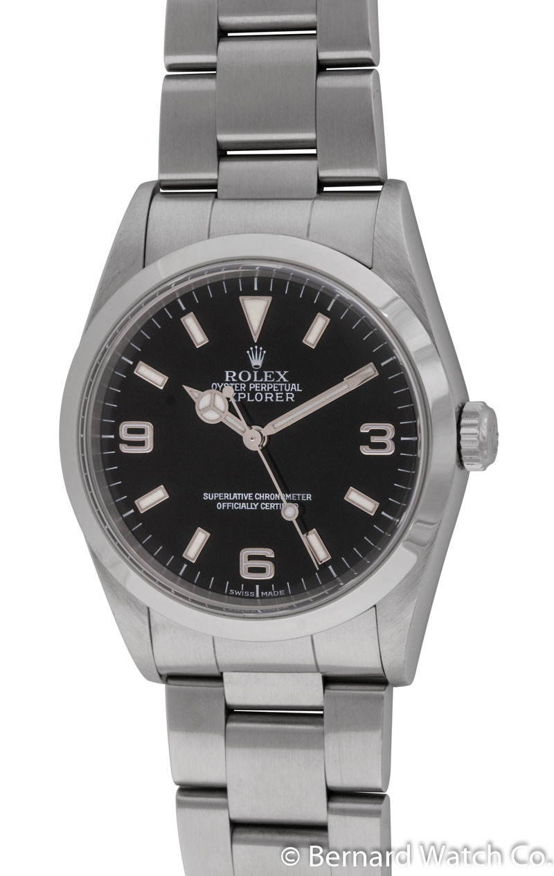 Rolex explorer 36mm 14270 bernard watch for Rolex explorer