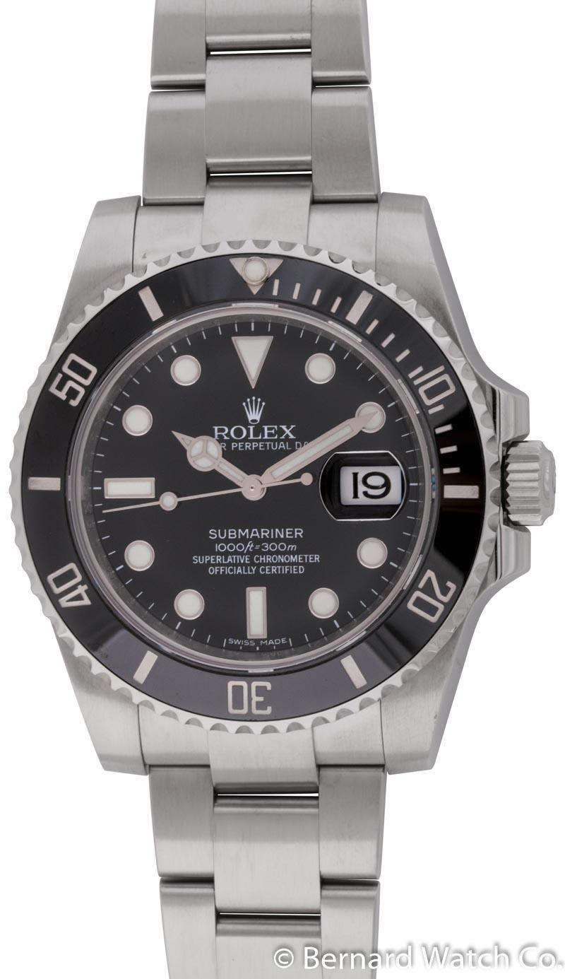 rolex submariner date 116610 bernard watch. Black Bedroom Furniture Sets. Home Design Ideas
