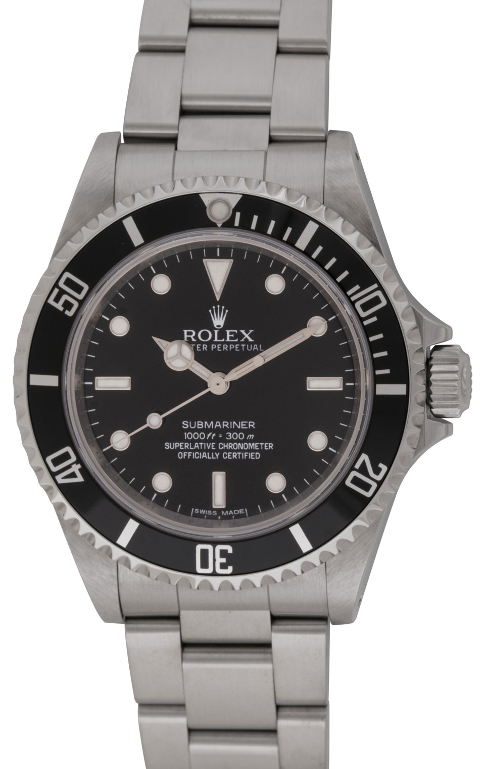 Rolex submariner 14060m bernard watch for Submarine watches