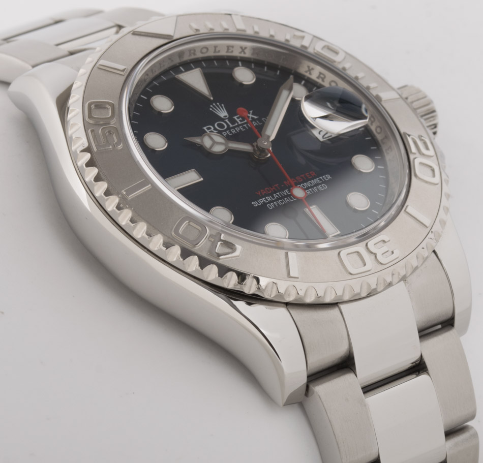 Side angle of Yacht-Master