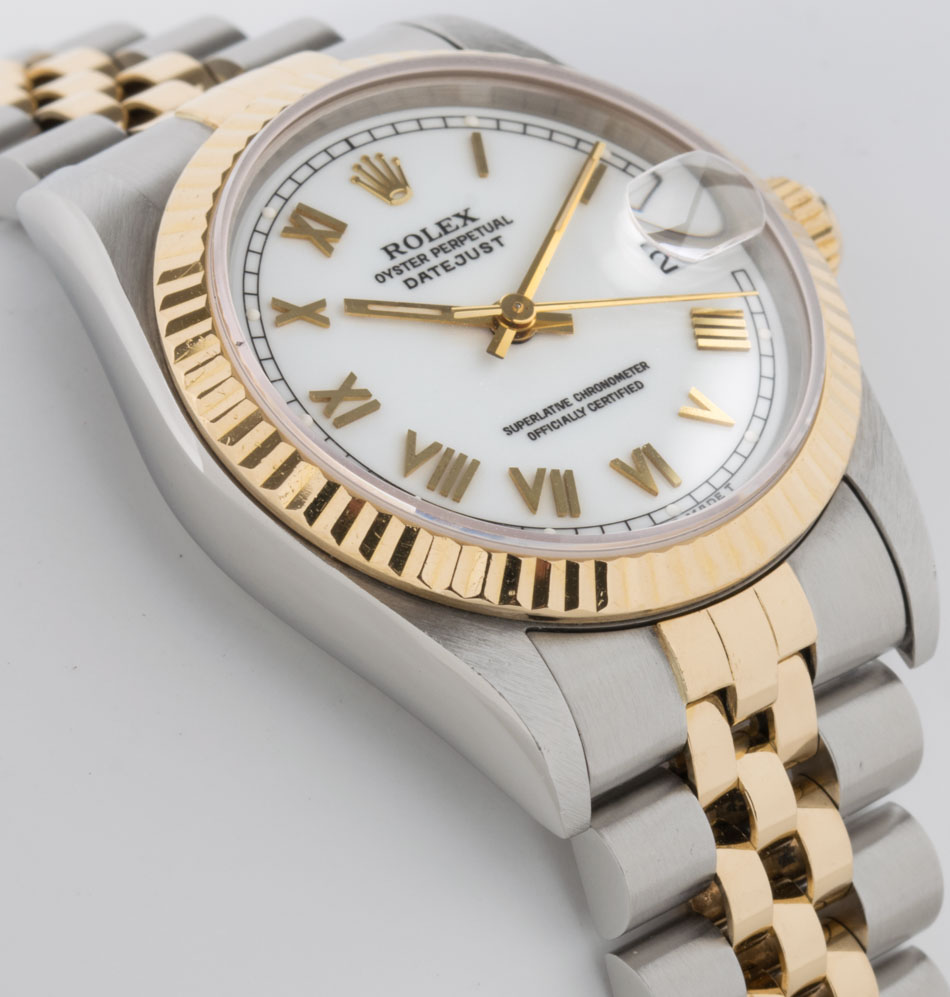 Side angle of Datejust Midsize