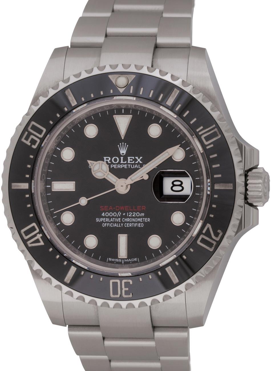 Rolex sea dweller 43mm 126600 bernard watch for Rolex sea wweller