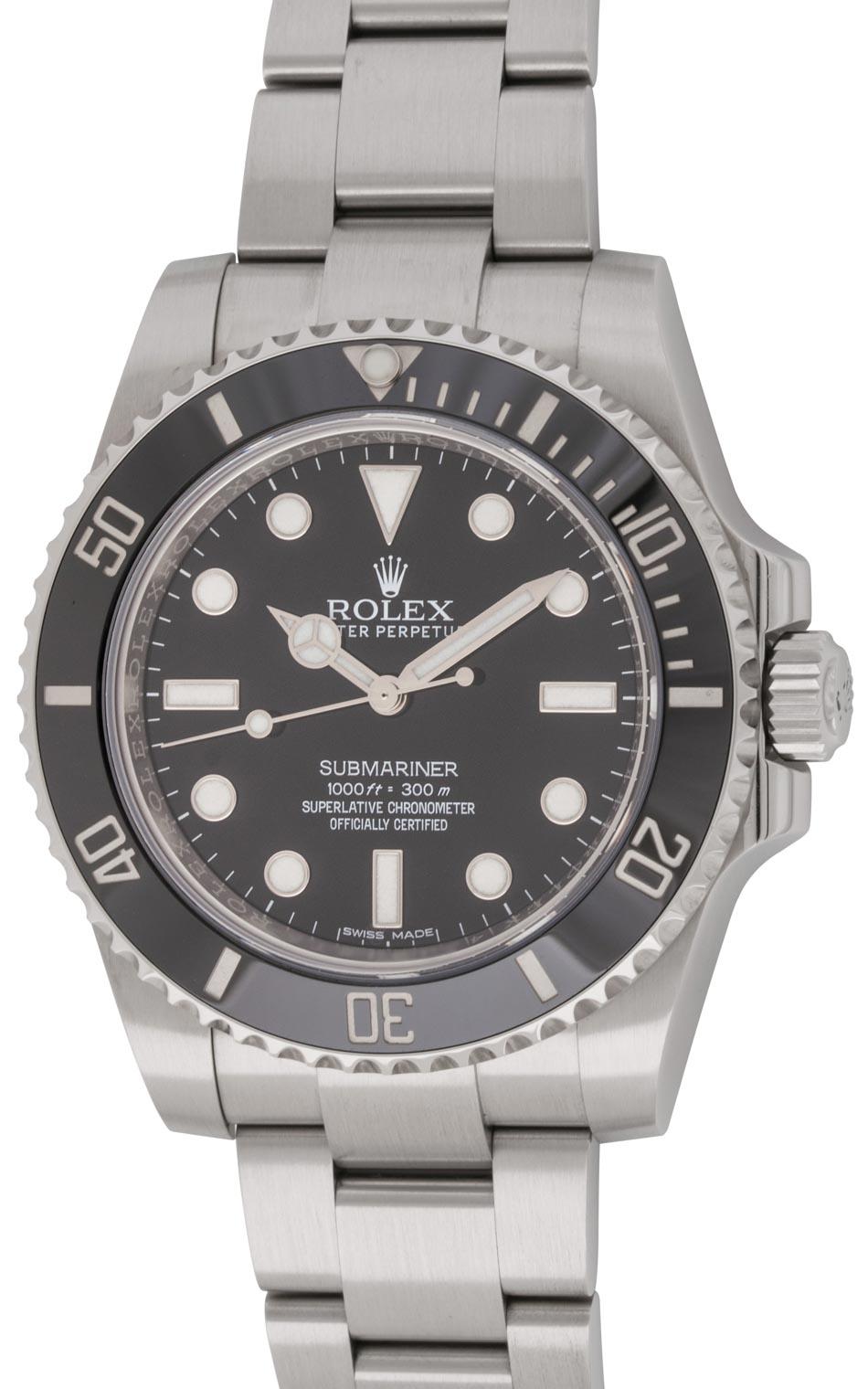 rolex submariner 114060 bernard watch. Black Bedroom Furniture Sets. Home Design Ideas