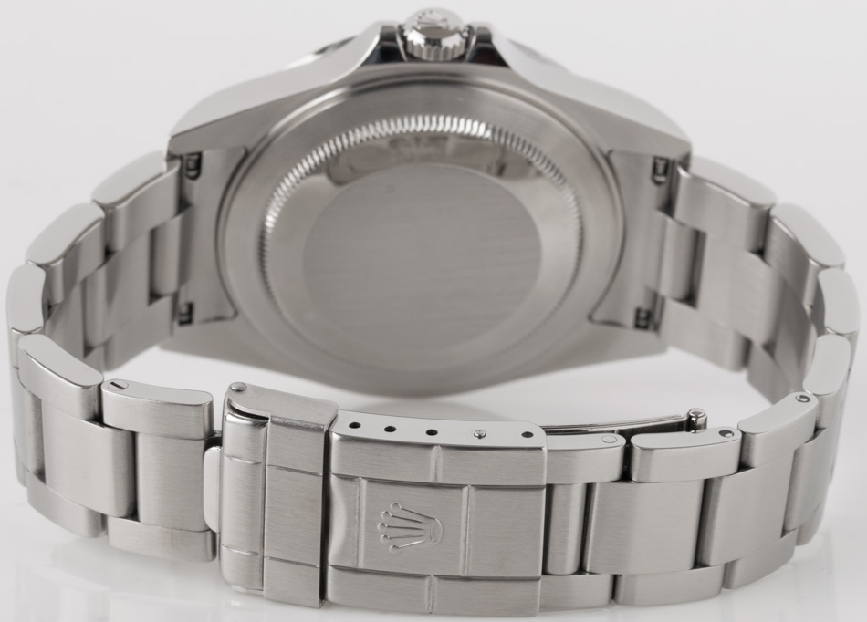 Rear shot of Explorer II '3186' with Heavy Oyster bracelet (SEL)