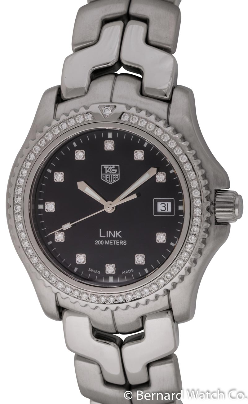 Tag heuer link wt111p bernard watch for Tag heuer d link