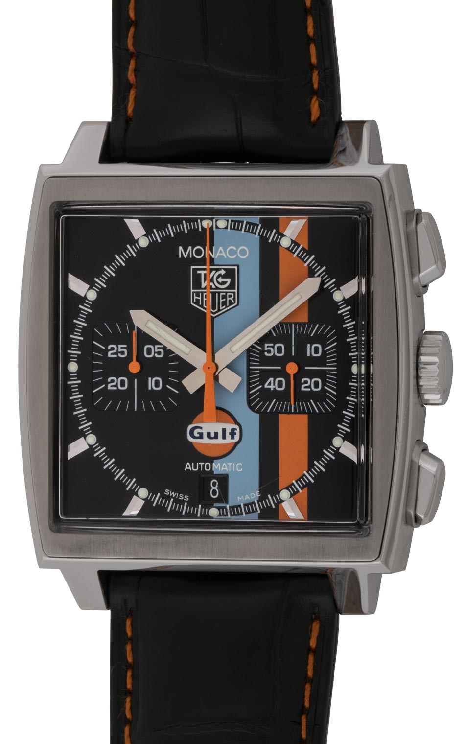 Limited Edition Birthday Collection: Monaco Chronograph 'Gulf' Limited Edition