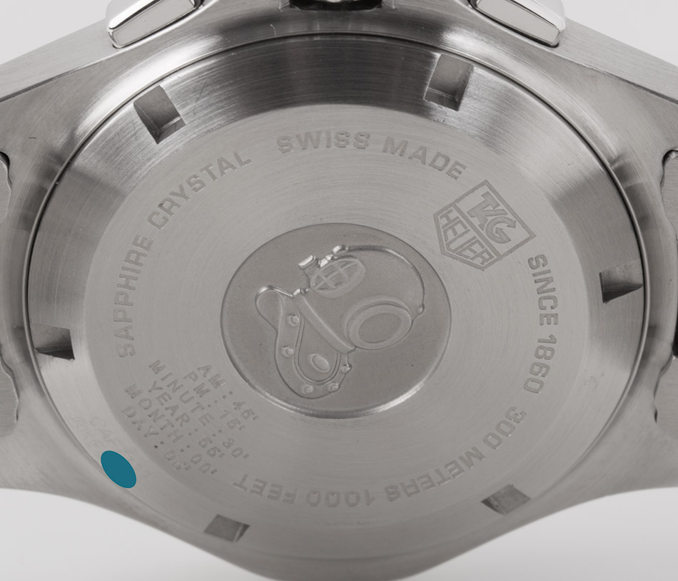 tag heuer aquaracer calibre s regatta manual