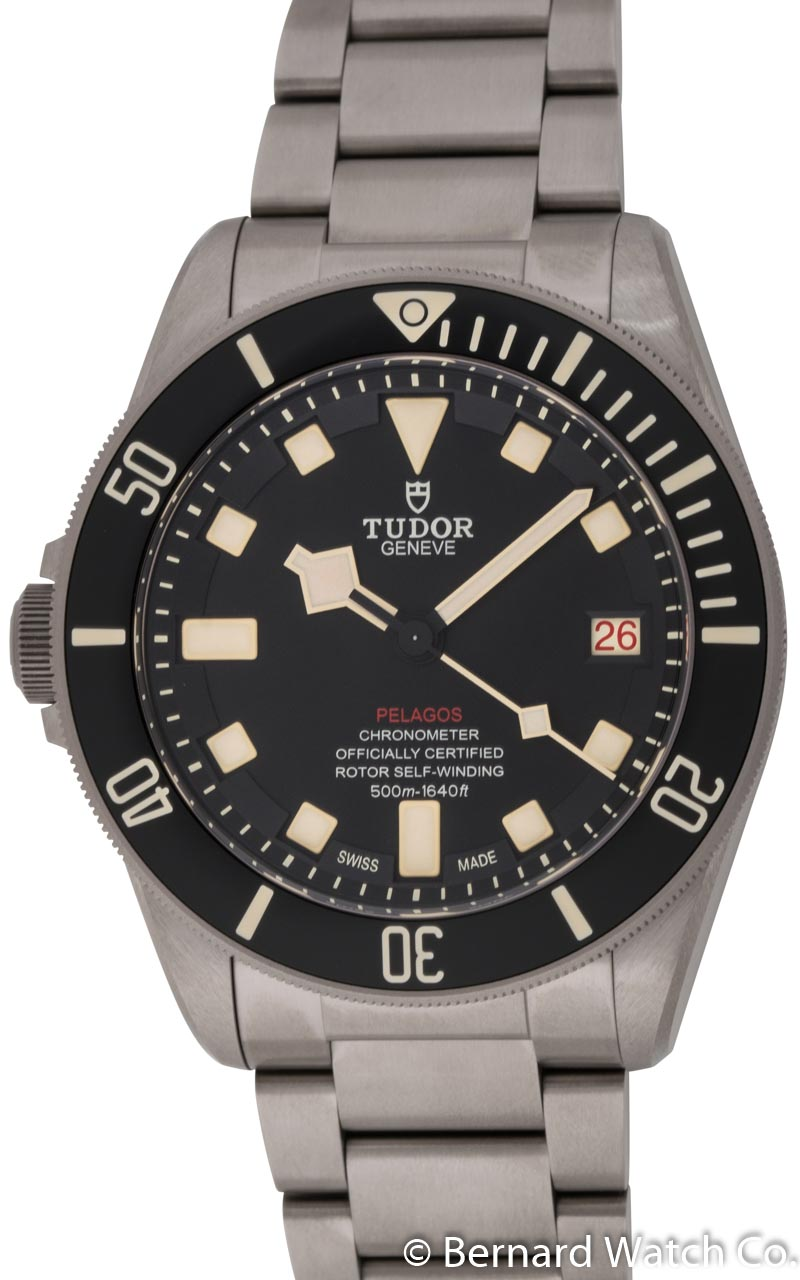 tudor pelagos lhd 25610tnl bernard watch. Black Bedroom Furniture Sets. Home Design Ideas