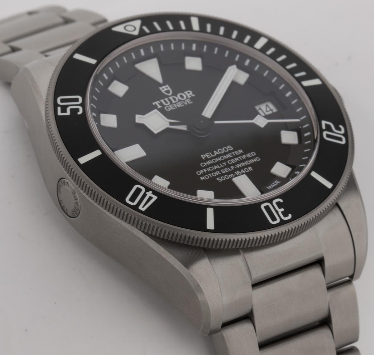 Side angle of Pelagos Chronometer