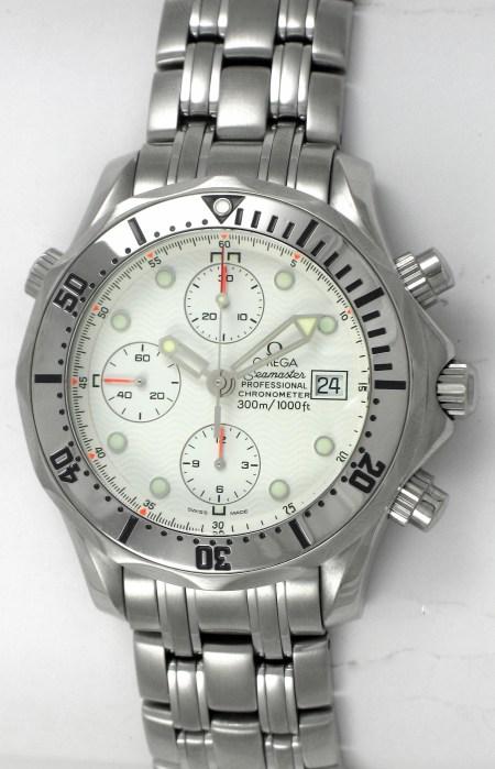 Omega Seamaster Pro Chronograph with 7750