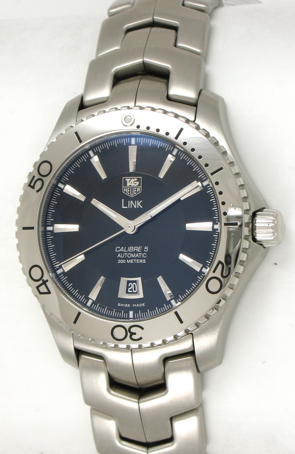 Tag heuer link diver wj201a ba0591 bernard watch for Tag heuer divers watch