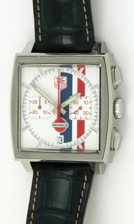 Tag heuer monaco 39 steve mcqueen 39 chronograph cw2118 bernard watch for Mcqueen watches