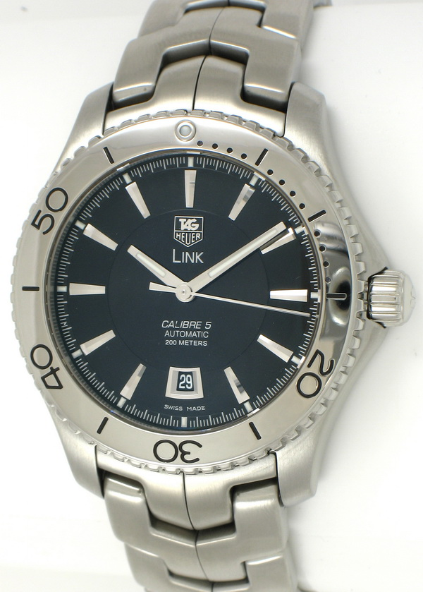 Tag heuer link diver wj201a bernard watch for Tag heuer divers watch