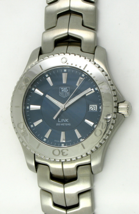 Tag heuer link diver wj1112 ba0570 bernard watch for Tag heuer divers watch