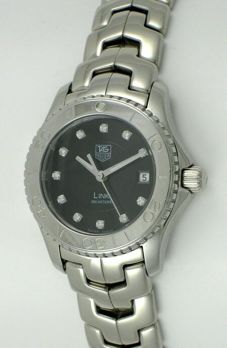 Tag heuer ladies link diver wj1318 ba0572 bernard watch for Tag heuer divers watch