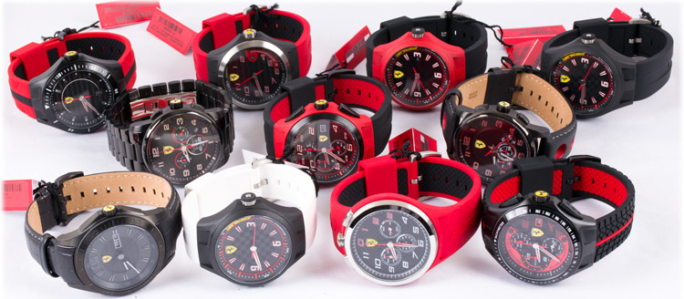 scuderia watches redrev ferrari