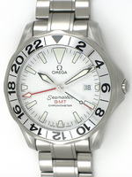 We buy Omega Seamaster GMT 'Great White' watches