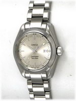 We buy Omega Ladies Seamaster Aqua Terra watches
