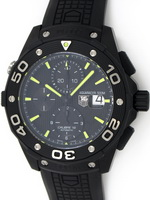 We buy TAG Heuer Aquaracer Chronograph Full Black watches