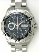 We buy TAG Heuer Aquaracer Chronograph Day-Date Chronometer watches