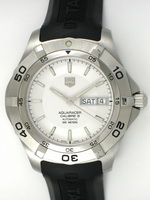 We buy TAG Heuer Aquaracer Day-Date watches